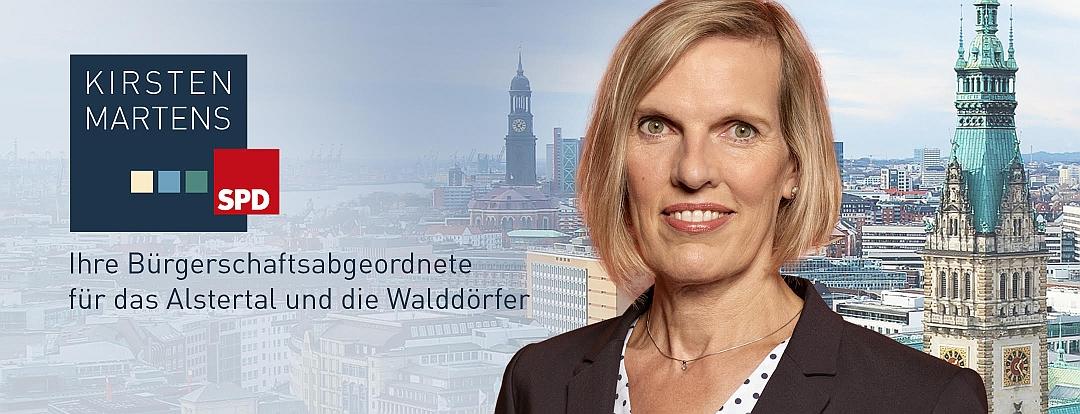 Kirsten Martens SPD Logo